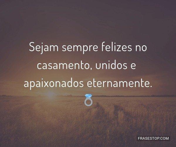 Sejam sempre felizes no...
