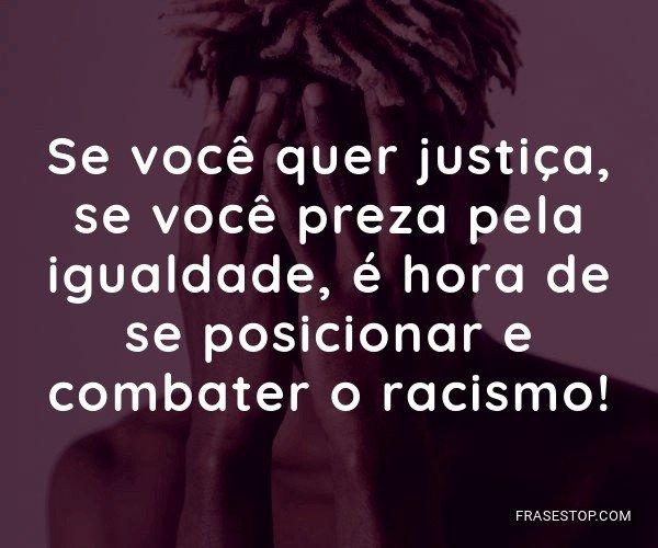 Se você quer justiça,...