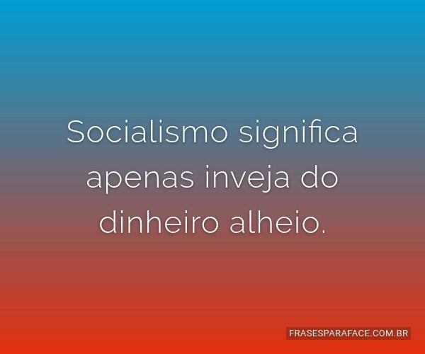 Socialismo significa...