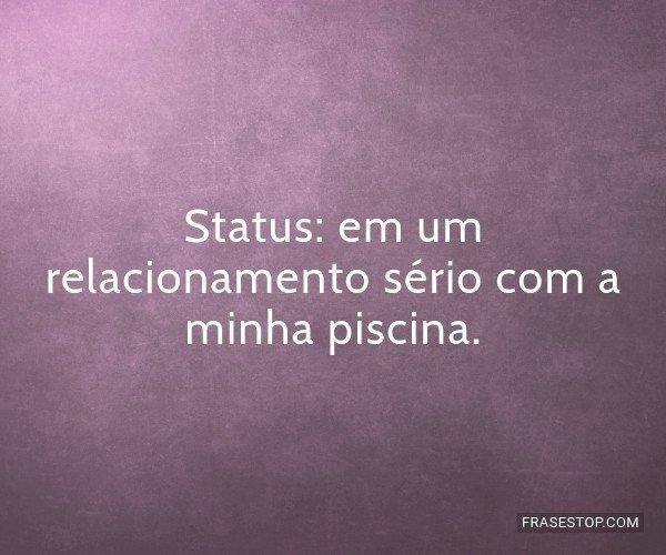 Status: em um...