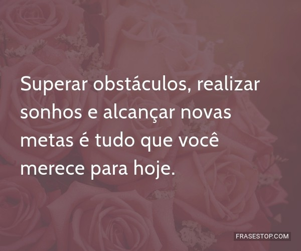 Superar obstáculos,...