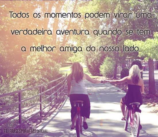 Todos os momentos podem...