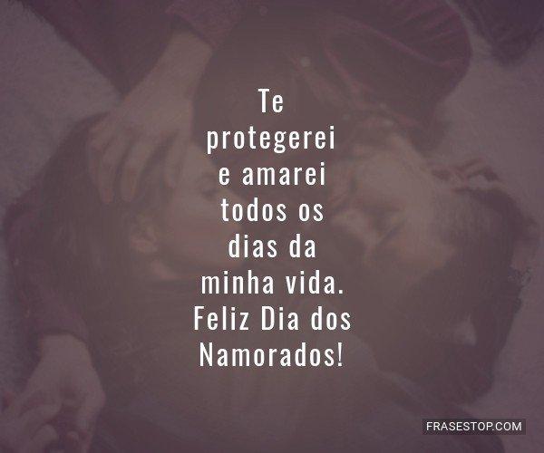Te protegerei e amarei...