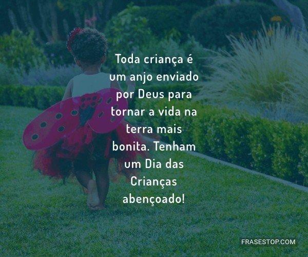 Toda criança é um anjo...