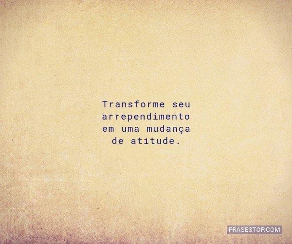 Transforme seu...