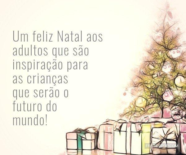 Um feliz Natal aos...