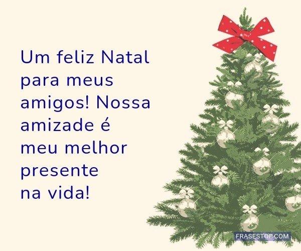 Um feliz Natal para meus...
