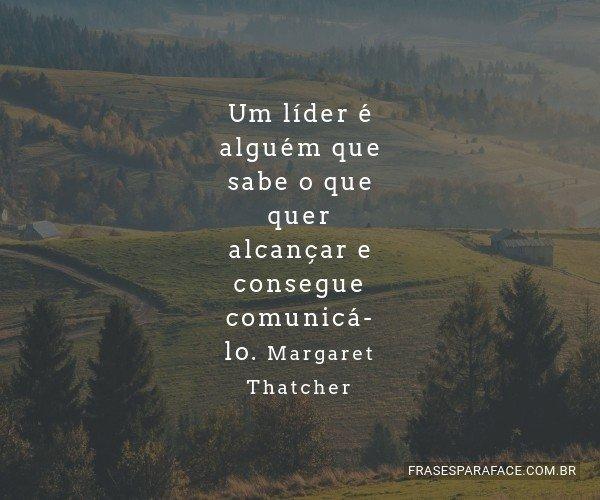 Um líder é alguém que...