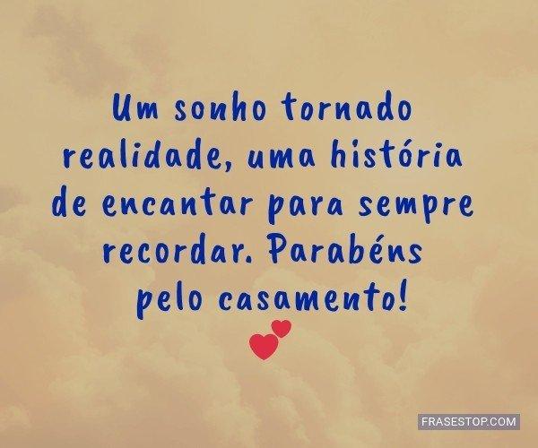 Um sonho tornado...