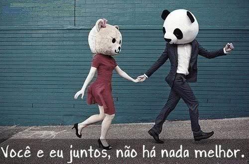 Você e eu juntos, não...