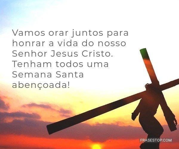 Vamos orar juntos para...